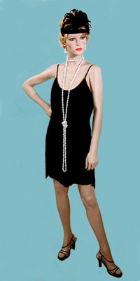Flapper Shimmy Costume or Party Dress
