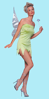 Tinkerbell, Sprite or Elf Pixie Costume