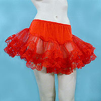 Short Lace Petticoat in Several Colors