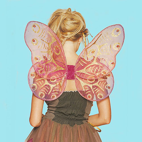 Jeweled Butterfly Wings for Fairy Costumes, a fashion accessorie - Evening Elegance