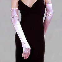 Satin Stretch Opera Gloves