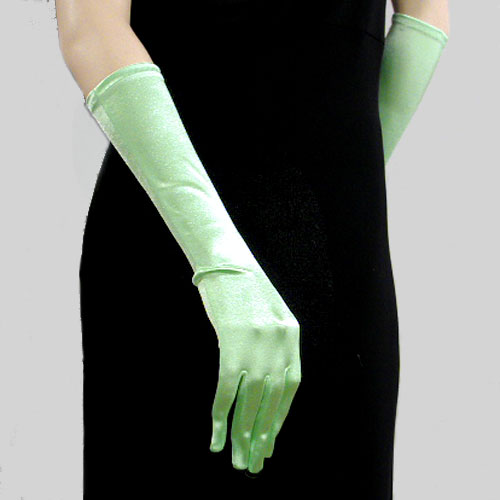 Satin Stretch Gloves Below the Elbow, a fashion accessories from Evening Elegance