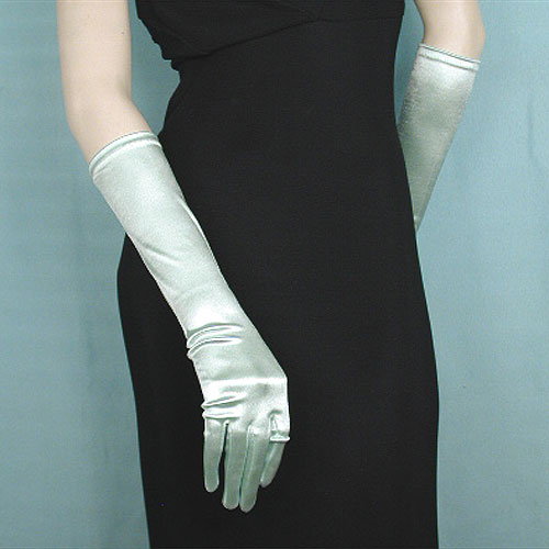 Below-the-Elbow-Long-Satin-Stretch-Gloves-Cool-Colors