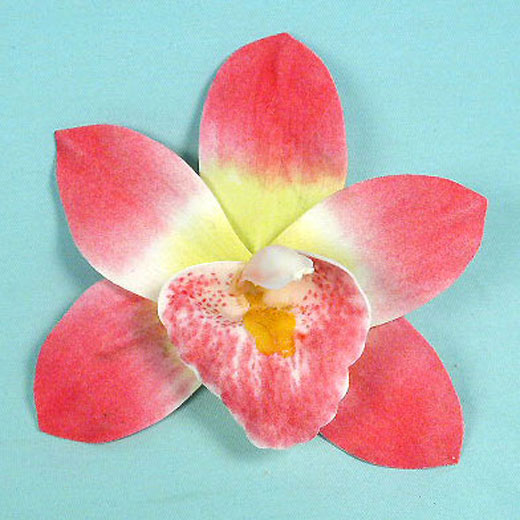 Large Orchid Hair Clip, a fashion accessories from Evening Elegance