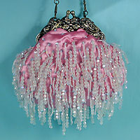 Beaded antique fringe