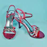 dressy shoes and sandals in a variety of styles and heel heights