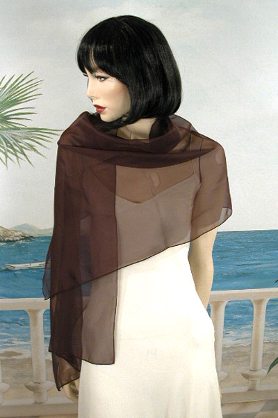 Chiffon Scarves or  Light Shawls, a fashion accessories from Evening Elegance