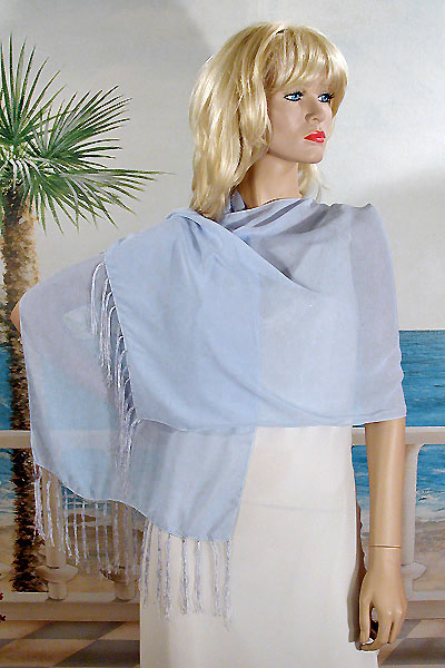 Fringed Scarf or Light Shawl, a fashion accessories from Evening Elegance