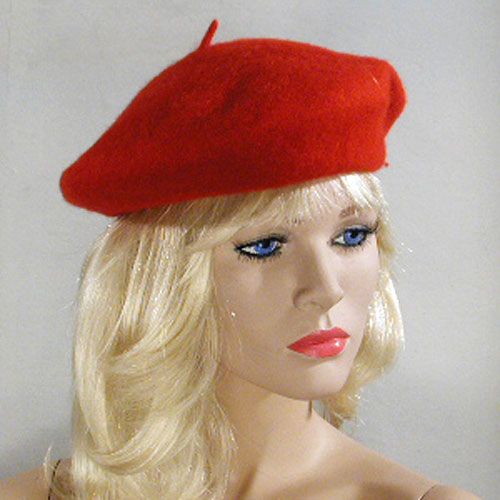 Wool Beret, a fashion accessorie - Evening Elegance