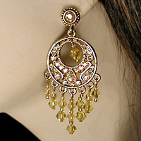 earrings-gold